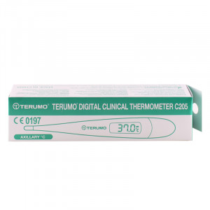 Terumo Digital Thermometer C205 เทอรูโม ปรอทวัดอุณหภูมิ แบบดิจิทัล รุ่น C205