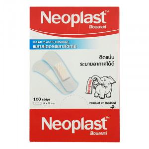 Neoplast พลาสเตอร์พลาสติกใส ขนาด 19X72 Mm. 1 กล่อง (100 เเผ่น)