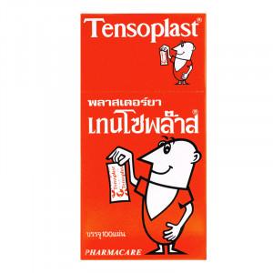 Tensoplast พลาสเตอร์ยา เทนโซพล๊าสผ้า 1 กล่อง บรรจุ 100 แผ่น
