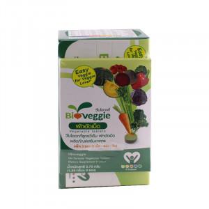 Bioveggie 150 Chewable tablets ไบโอเวกกี้ ผักอัดเม็ด 12 ชนิด 150 เม็ด