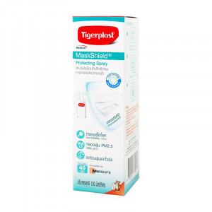Tigerplast MaskShield + Protecting Spray 100 ml. สเปรย์เพิ่มประสิทธิภาพการกรองหน้ากากผ้า 100 มล.
